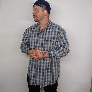 Abercrombie & Fitch XL Plaid Button Down